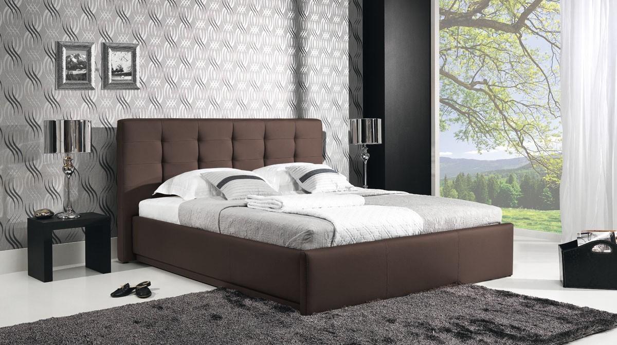 Čalúnená Avalon - Rám postele 200x180, s roštom a úložným priestorom