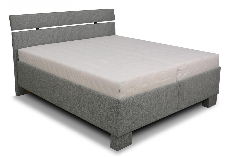 Čalúnená Čalúnená posteľ Antares 160x200, vrátane matracov,pol.roštu a úp