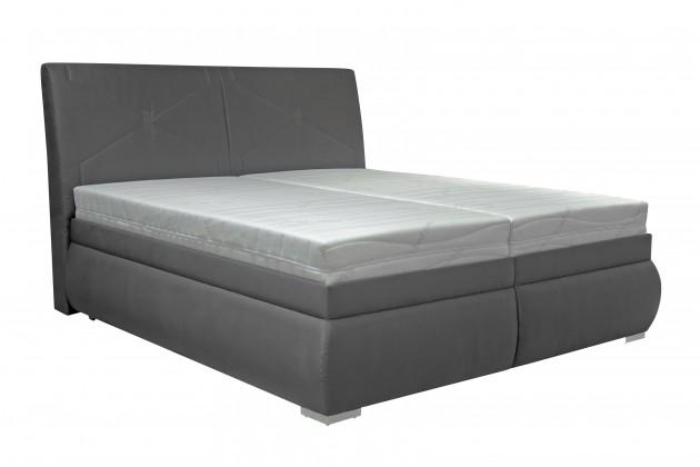 Čalúnená Čalúnená posteľ Arte 180x200, vrátane matracov, pol. roštu a úp