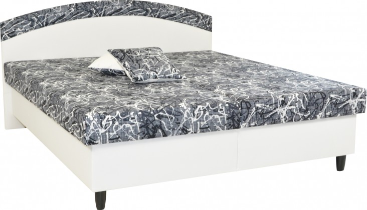 Čalúnená Čalúnená posteľ Corveta 160x200,  vrátane matracov a úp