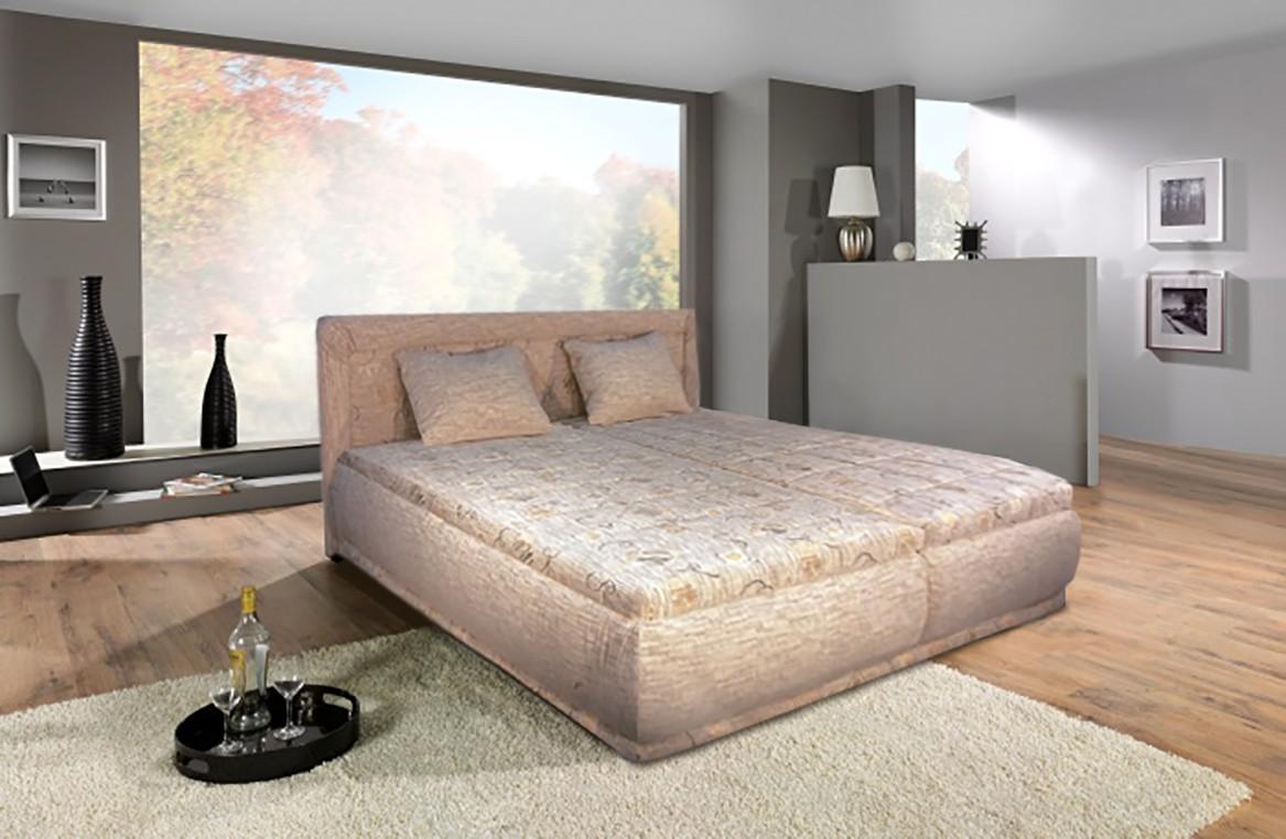 Čalúnená Čalúnená posteľ Harmonie 180x200,vrátane matracov,roštu a úp