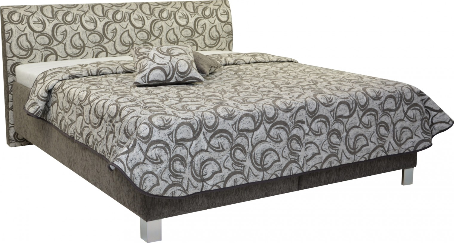 Čalúnená Čalúnená posteľ Sahara 180x200, vrátane roštu a úp, bez matracov