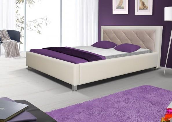 Čalúnená Čalúnená posteľ Sao Paulo 160x200, s roštom a úp, bez matracov