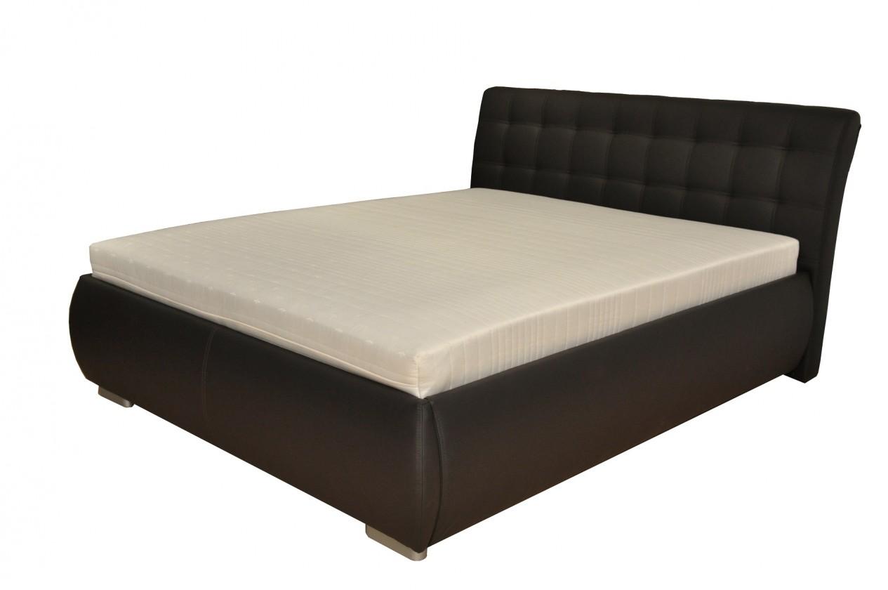 Čalúnená Čalúnená posteľ Tobago 160x200, vrátane roštu a úp, bez matraca