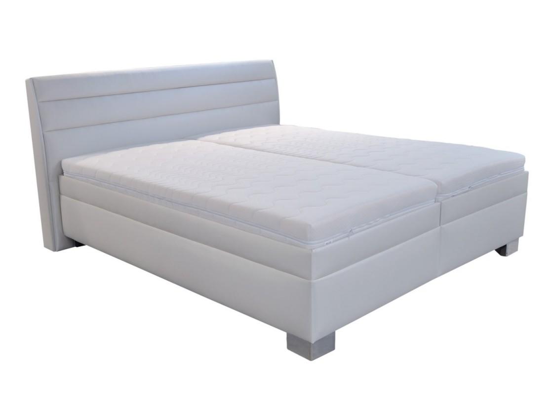 Čalúnená Čalúnená posteľ Vernon 180x200 vrát. pl. roštu a úp, bez matr.