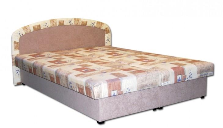 Čalúnená Čalúnená postel Zofie 160x200, béžová, vrátane matracov a úp