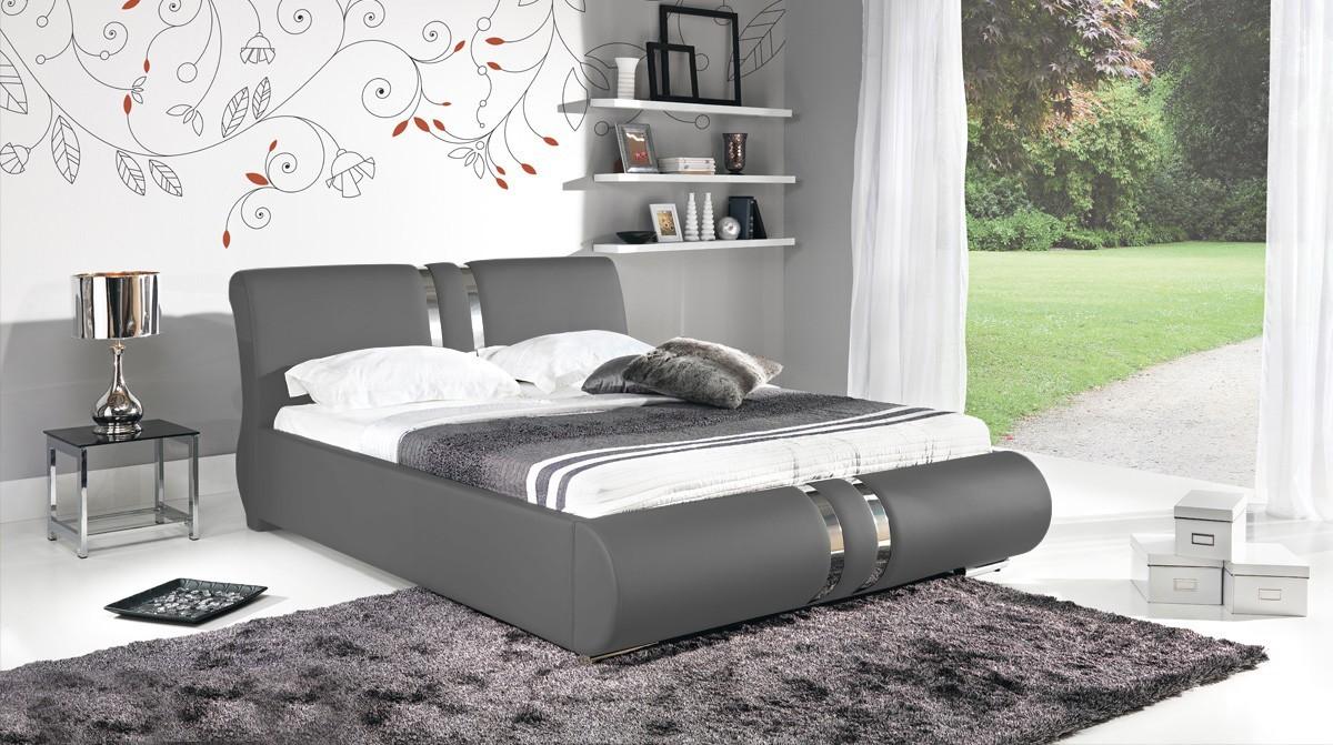 Čalúnená Combi - Rám postele 200x160, s roštom a úložným priestorom