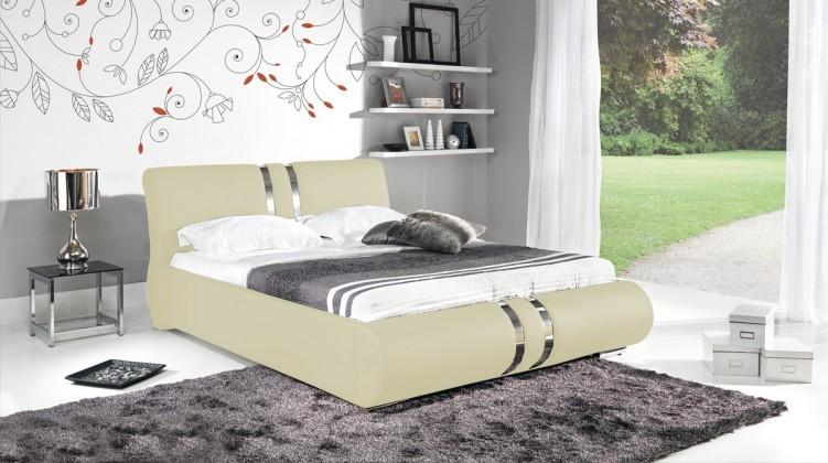 Čalúnená Combi - Rám postele 200x180, s roštom a úložným priestorom