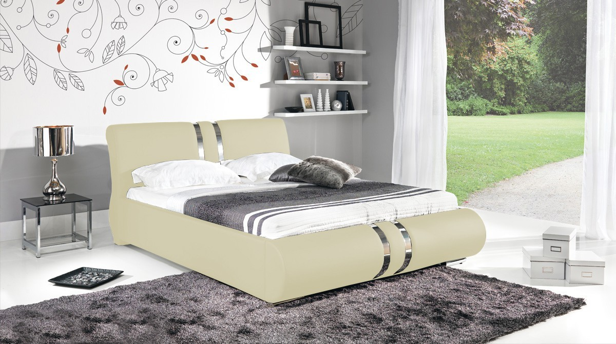 Čalúnená Combi - Rám postele 200x180, s roštom