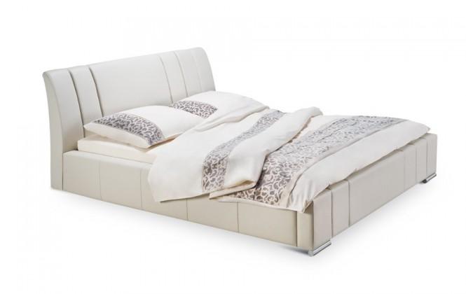Čalúnená Diano - rám postele, rošt, 2x matrac, úložný priestor (200x160)