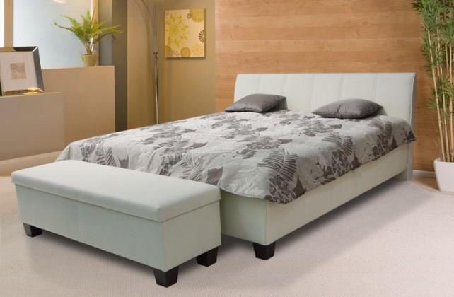 Čalúnená Exima 2 - posteľ 200x180, úložný priestor, výklopný rošt