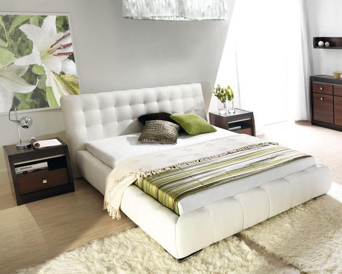 Čalúnená Forrest - Rám postele 200x140, s roštom a úložným priestorom