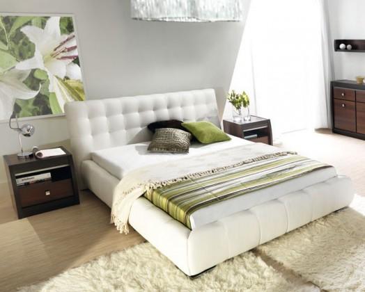 Čalúnená Forrest - Rám postele 200x140, s roštom