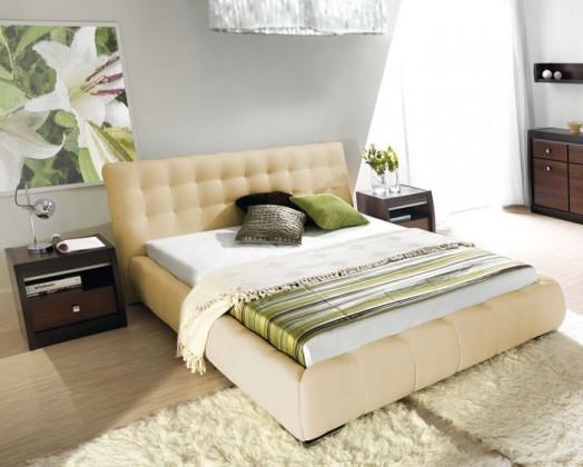 Čalúnená Forrest - Rám postele 200x160, s roštom a úložným priestorom