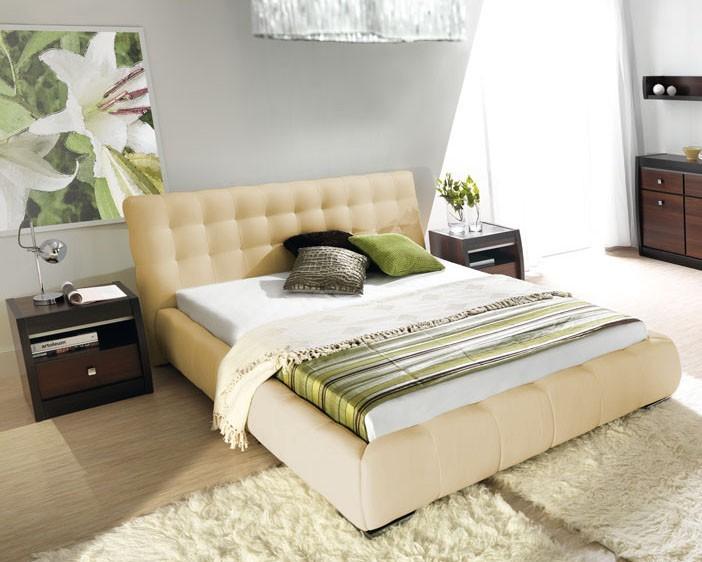 Čalúnená Forrest - Rám postele 200x160, s roštom