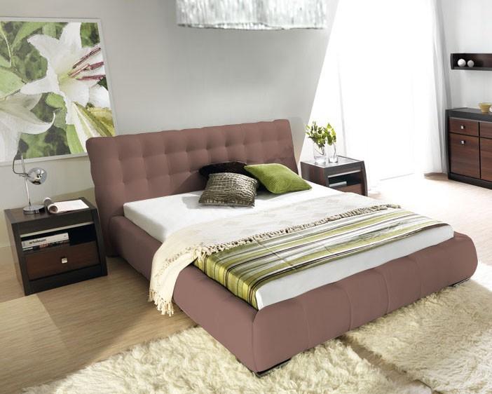 Čalúnená Forrest - Rám postele 200x180, s roštom a úložným priestorom