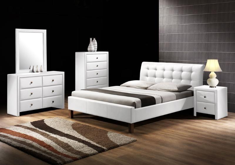 Čalúnená Kirsty - Posteľ 200x160, rám postele, rošt (biela)