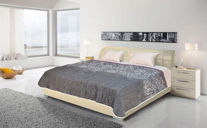 Čalúnená Master - posteľ  180x200 (bronco creme)