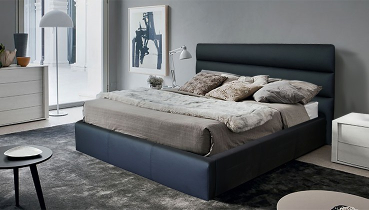 Čalúnená Nancy - rám postele 200x180 (eko koža)