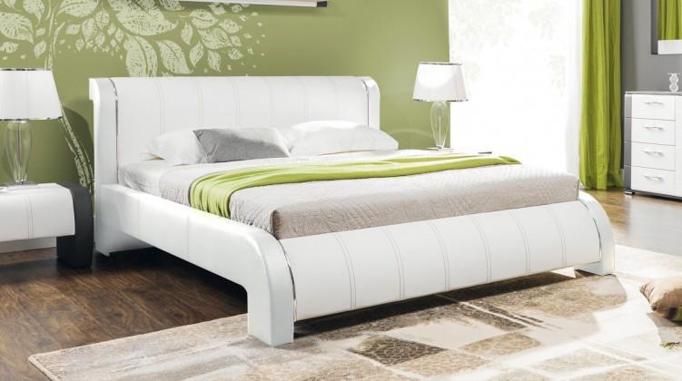 Čalúnená Naomi - Rám postele 200x160, s roštom