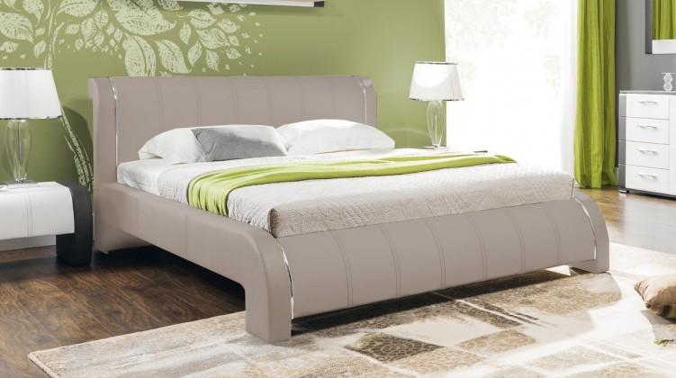 Čalúnená Naomi - Rám postele 200x180, s roštom