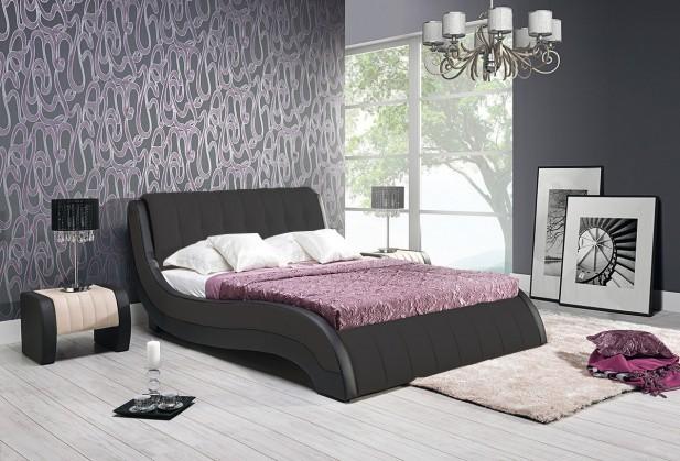 Čalúnená Nicol II - Rám postele 200x160, s roštom a úložným priestorom