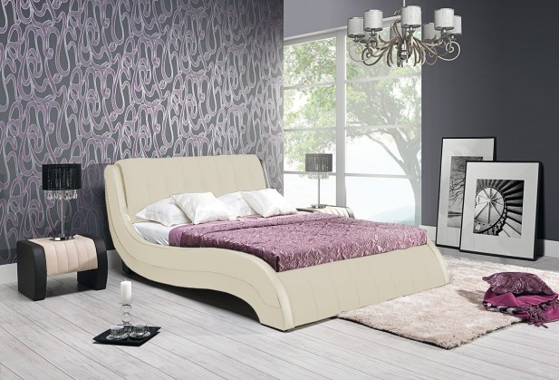 Čalúnená Nicol II - Rám postele 200x180, s roštom