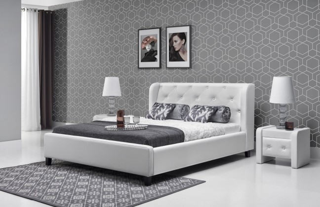 Čalúnená Parys - Rám postele 200x140 (eko skay 017)