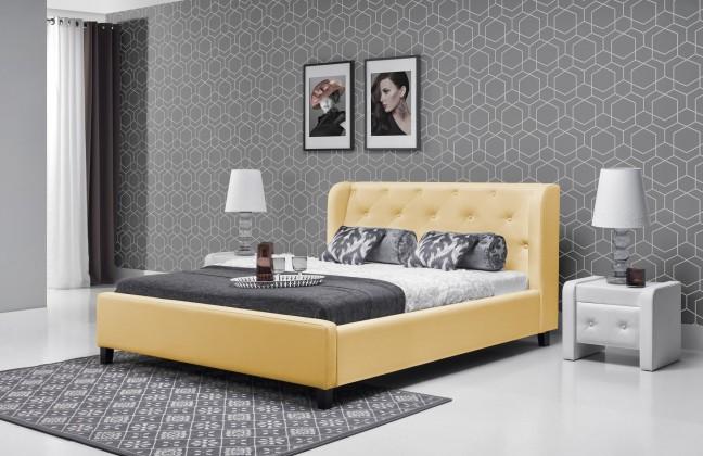 Čalúnená Parys - Rám postele 200x140 (eko skay 103)
