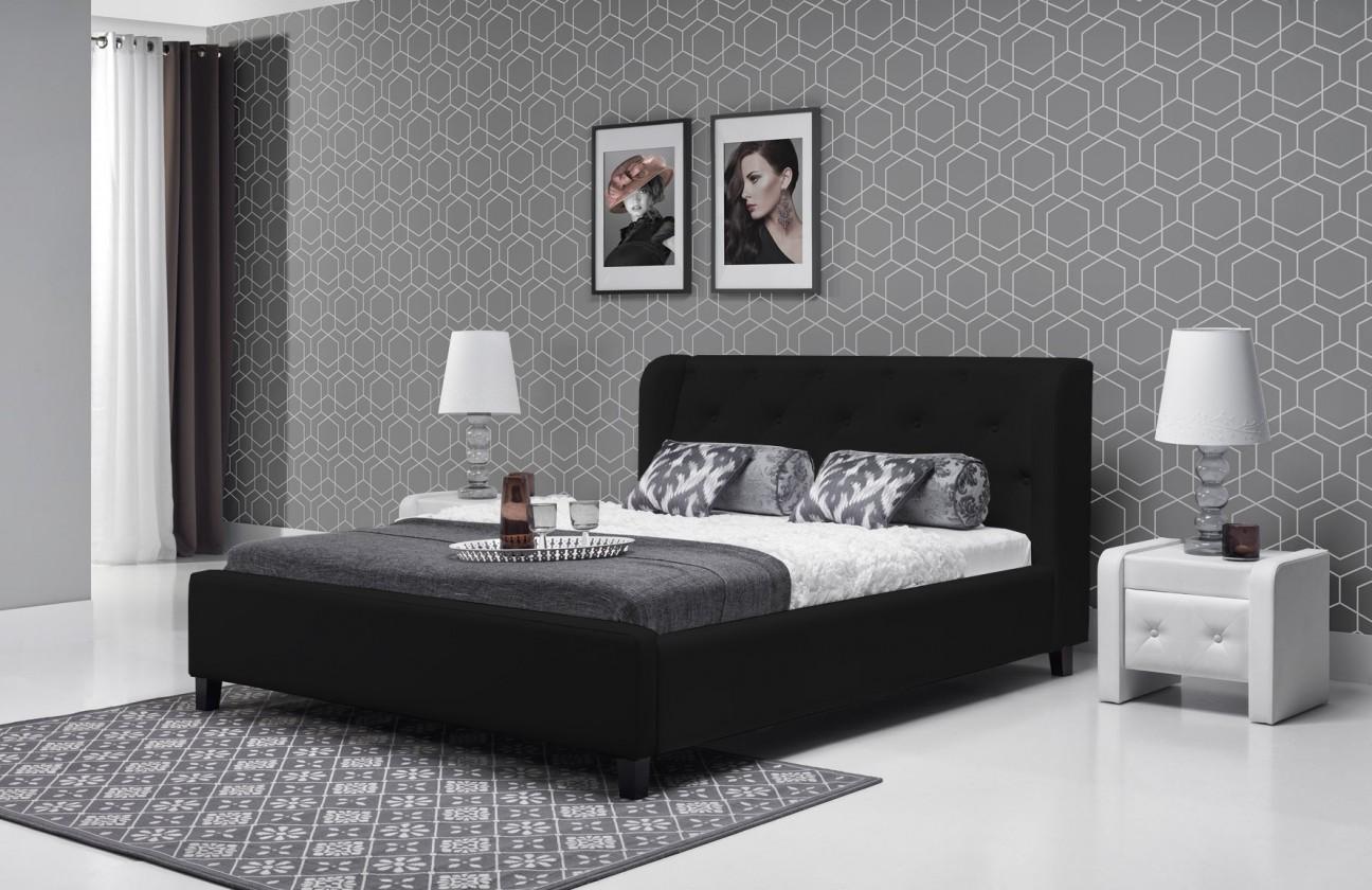 Čalúnená Parys - Rám postele 200x140 (eko skay 910)