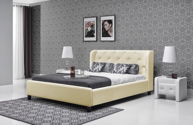 Čalúnená Parys - Rám postele 200x140 (eko skay B1)