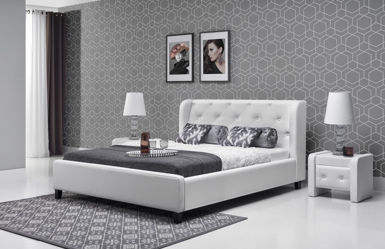 Čalúnená Parys - Rám postele 200x180 (eko skay 017)