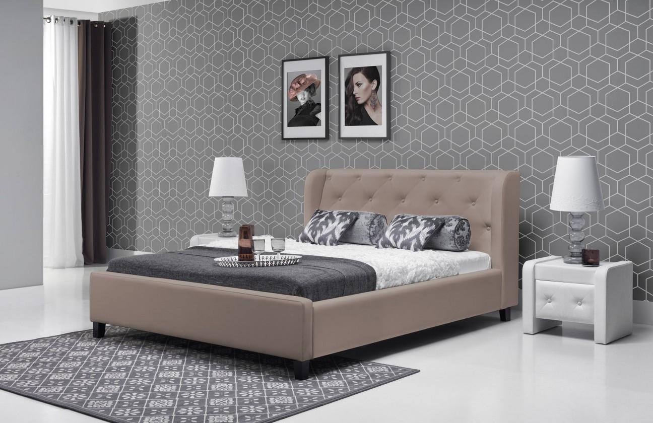 Čalúnená Parys - Rám postele 200x180 (eko skay cayenne 6)