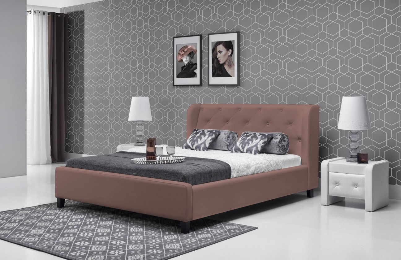 Čalúnená Parys - Rám postele 200x180 (eko skay tiguan 103)