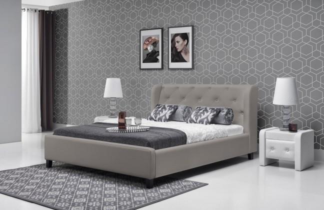 Čalúnená Parys - Rám postele 200x180 (eko skay tiguan 105)