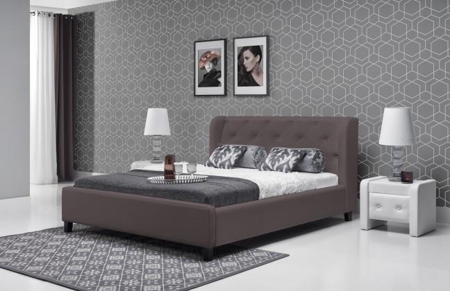 Čalúnená Parys - Rám postele 200x180 (eko skay tiguan 108)