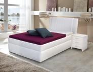 Čalúnená posteľ Bassit 2 - 90x200, rošt a úp, bez matraca