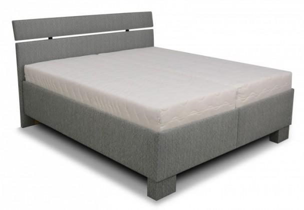 Čalúnená posteľ Čalúnená posteľ Antares 180x200, vrátane matracov,pol.roštu a úp