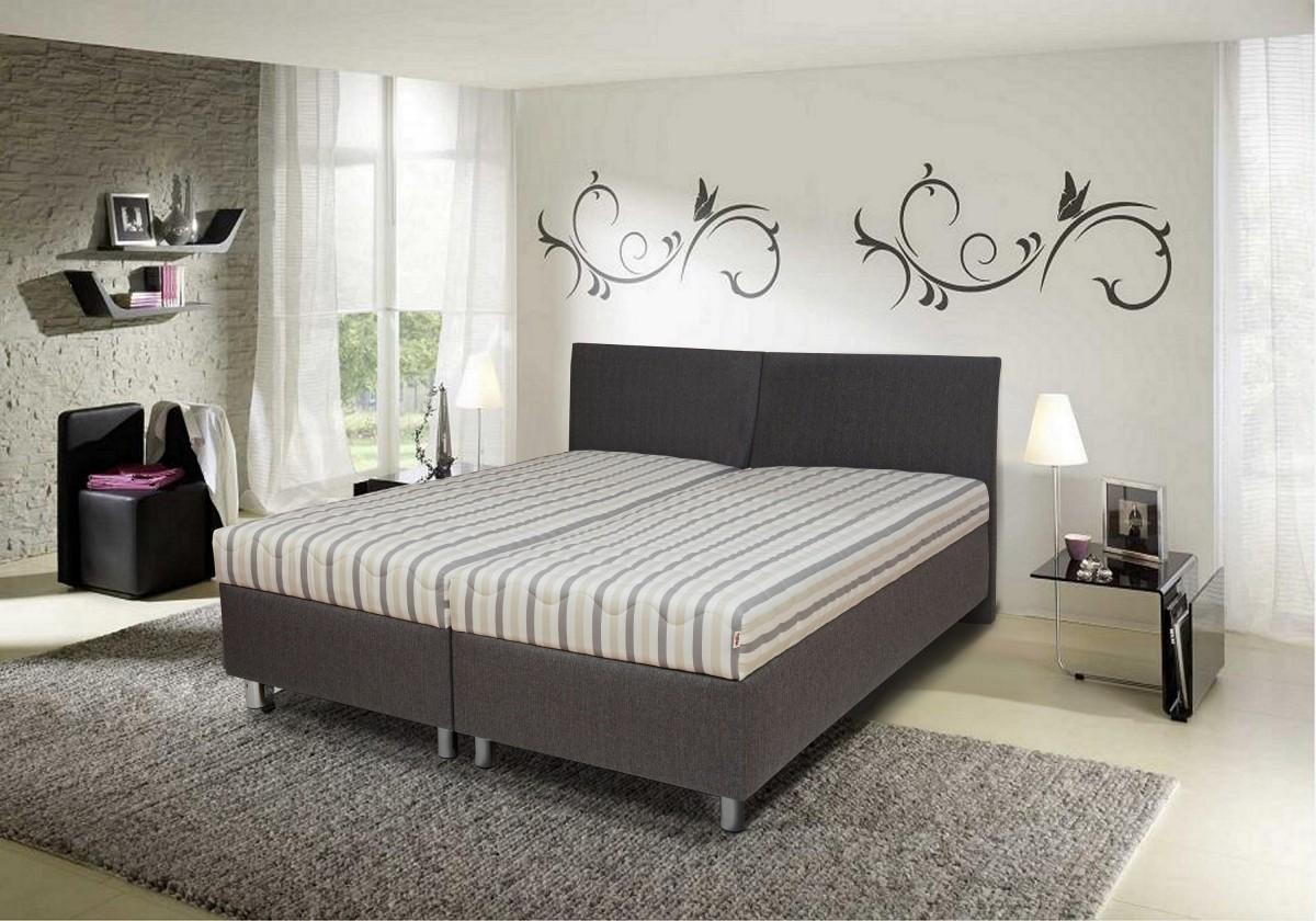 Čalúnená posteľ Čalúnená posteľ Colorado 180x200, vrátane matracov, roštu a úp