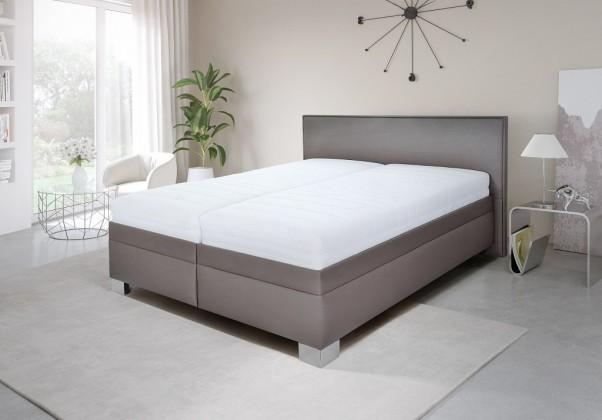 Čalúnená posteľ Čalúnená posteľ Grand 180x200 vrát. pol.roštu a úp,bez matracov