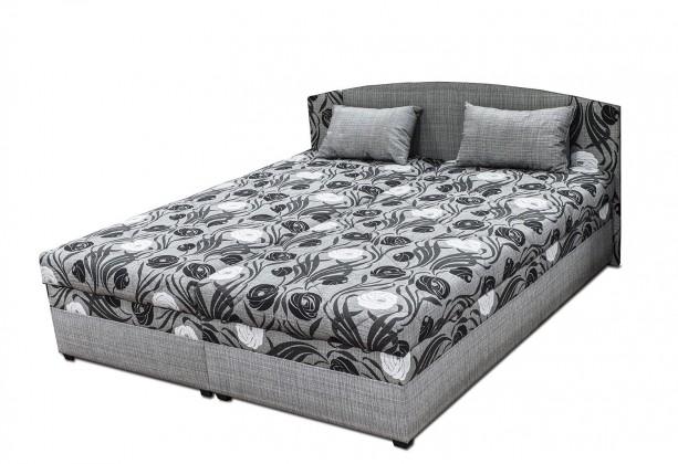 Čalúnená posteľ Čalúnená posteľ Kappa 180x200, vrátane matracov, roštu a úp