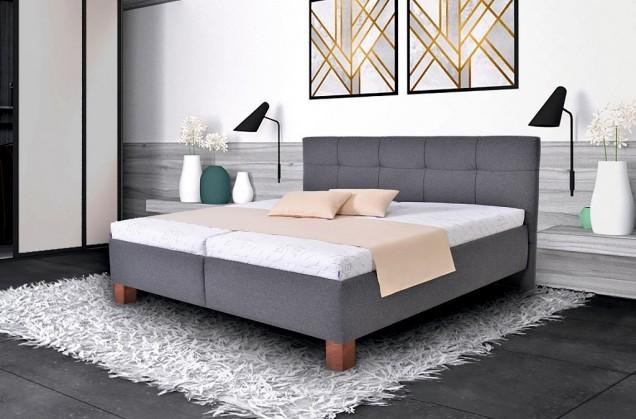 Čalúnená posteľ Čalúnená posteľ Mary 180x200