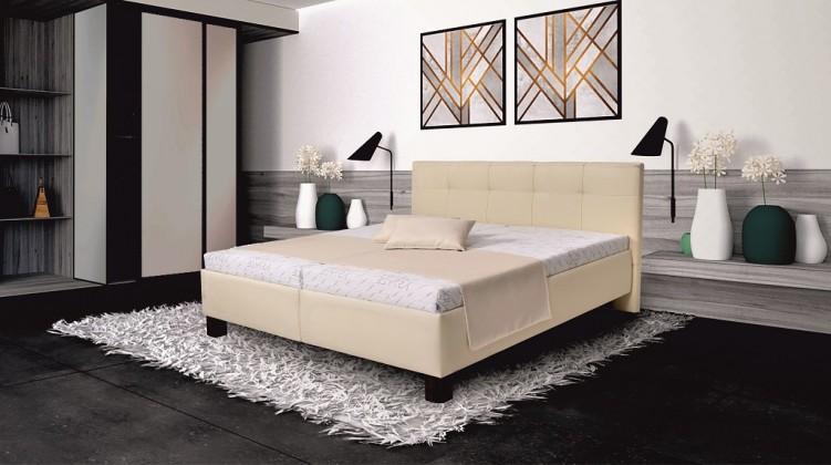 Čalúnená posteľ Čalúnená posteľ Mary 180x200, vr. matraca, pol. roštu a ÚP