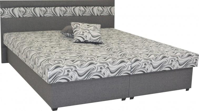 Čalúnená posteľ Čalúnená posteľ Mexico 160x200, šedá, vrátane úp