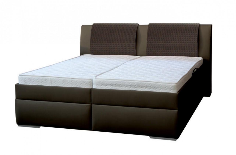Čalúnená posteľ Čalúnená posteľ Mirror 2 180x200 vrátane roštu a úp,bez matracov