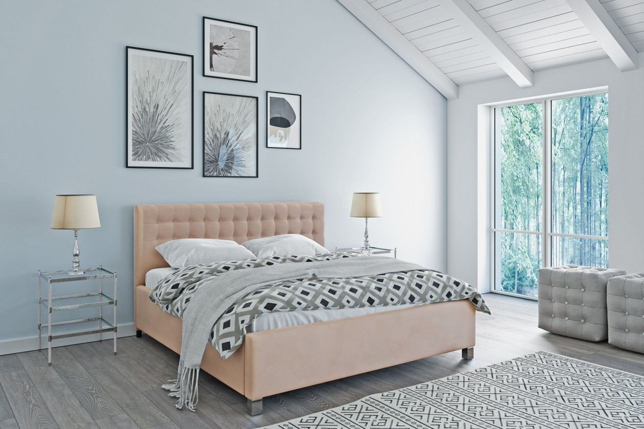Čalúnená posteľ Čalúnená posteľ Monte Negro 180x200 vr.roštu a úp, bez matraca