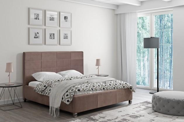Čalúnená posteľ Čalúnená posteľ San Luis 160x200 vr.roštu a úp, bez matraca