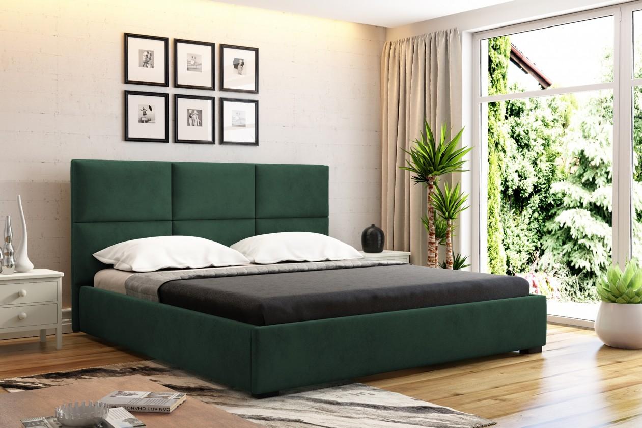 Čalúnená posteľ Čalúnená posteľ Storione 160x200 vr.roštu a úp, bez matraca