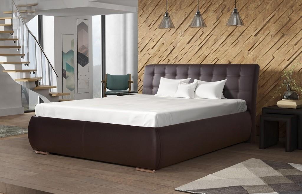 Čalúnená posteľ Čalúnená posteľ Tobago 180x200, vrátane roštu a úp, bez matraca