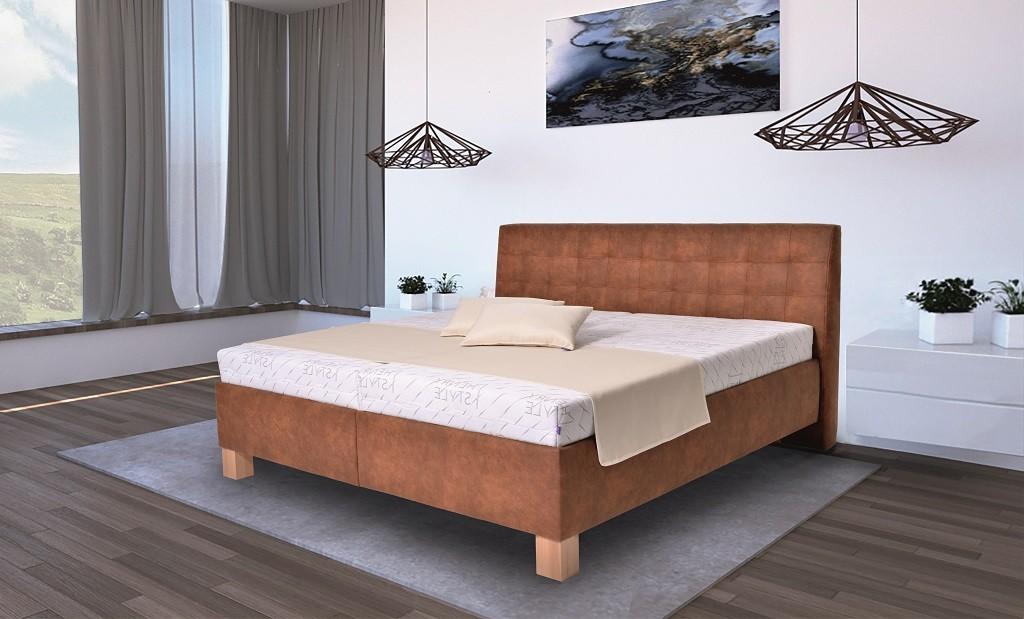 Čalúnená posteľ Čalúnená posteľ Victoria 180x200, vr. matraca, pol. roštu a ÚP